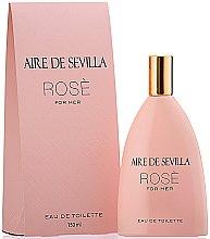 Parfums et Produits cosmétiques Instituto Espanol Aire de Sevilla Rose - Eau de Toilette
