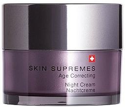 Parfums et Produits cosmétiques Crème de nuit au beurre de karité - Artemis of Switzerland Skin Supremes Age Correcting Night Cream