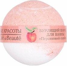 Parfums et Produits cosmétiques Bombe de bain à la pêche - Le Cafe de Beaute Bubble Ball Bath