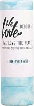 Parfums et Produits cosmétiques Déodorant stick - We Love The Planet Forever Fresh Deodorant Stick