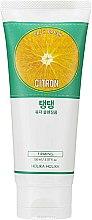 Parfums et Produits cosmétiques Mousse à l'extrait de citron pour visage - Holika Holika Daily Fresh Citron Cleansing Foam