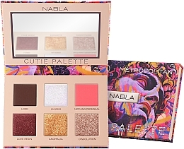 Parfums et Produits cosmétiques Palette de fards à paupières - Nabla Cutie Collection Palette Metropolitan