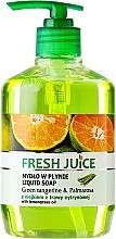 Parfums et Produits cosmétiques Savon liquide à l'huile de citronnelle, mandarine et limonade - Fresh Juice Green Tangerine & Palmarosa