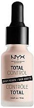 Parfums et Produits cosmétiques Base de teint - NYX Professional Makeup Professional Total Control Drop Primer