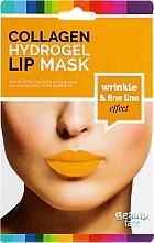 Parfums et Produits cosmétiques Masque hydrogel anti-rides au collagène pour les lèvres - Beauty Face Collagen Hydrogel Lip Mask Wrinkle Smooth Effect