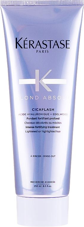 Soins profonds pour les cheveux avec décoloration ou balayage - Kerastase Blond Absolu Cicaflash Conditioner