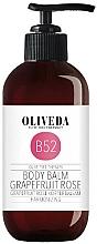 Parfums et Produits cosmétiques Baume à l'huile d'olive pour corps, Pamplemousse et Rose - Oliveda Grapefruit Rose Body Balm