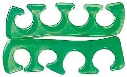 Parfums et Produits cosmétiques Paire de séparateurs d'orteils silicone, vert - Peggy Sage