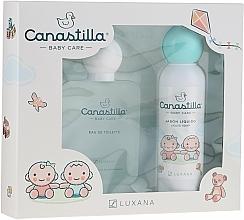 Parfums et Produits cosmétiques Luxana Canastilla - Set (eau de toilette/100ml + savon liquide/150ml)