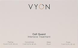 Parfums et Produits cosmétiques Coffret cadeau - Vyon Gell Guard Intensive Treatment (peel/10ml + conc/7ml + mask/25g + finish/7ml)