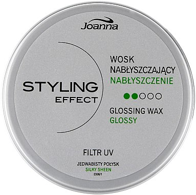 Cire pour cheveux effet brillant - Joanna Styling Effect Glossing Wax