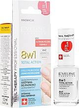 Parfums et Produits cosmétiques Traitement intensif pour la régénération des ongles - Eveline Cosmetics Nail Therapy Total Action 8 in 1