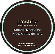Parfums et Produits cosmétiques Crème à l'extrait de citronnelle pour corps - Ecolatier Indian Lemongrass Body Thalasso Cream