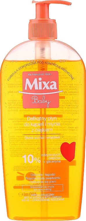 Huile de douche moussante pour enfants - Mixa Baby Foaming Oil