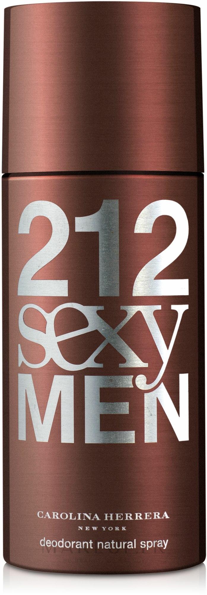 Carolina Herrera 212 Sexy Men - Déodorant pour homme — Photo 150 ml
