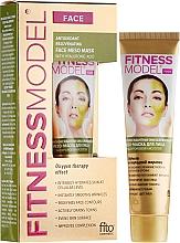 Parfums et Produits cosmétiques Masque méso-rajeunissant antioxydant à l'acide hyaluronique pour visage - FitoKosmetik Hair Fitness Model