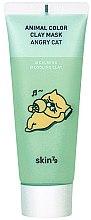 Parfums et Produits cosmétiques Masque apaisant à l'argile pour le visage - Skin79 Animal Color Clay Mask Angry Cat