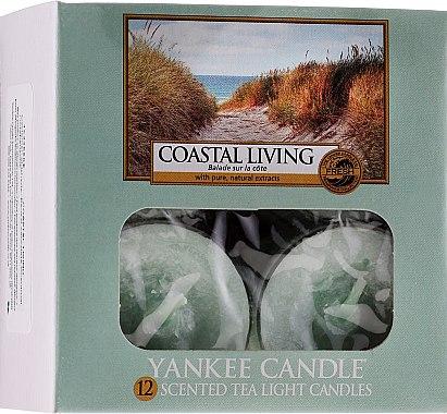 Bougies chauffe-plats parfumées Balade sur la côte - Yankee Candle Scented Tea Light Candles Coastal Living — Photo N1