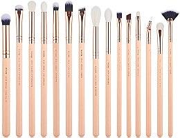 Parfums et Produits cosmétiques Kit pinceaux maquillage, T447, 15 pcs. - Jessup