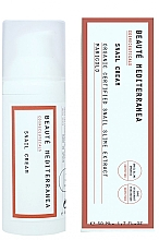Parfums et Produits cosmétiques Crème à la bave d'escargot pour visage - Beaute Mediterranea Snail Cream
