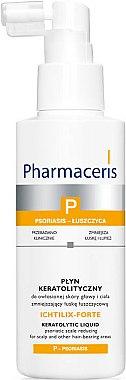 Fluide kératolytique pour corps et cuir chevelu - Pharmaceris P Ichtilix Forte