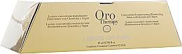 Parfums et Produits cosmétiques Lotion concentrée en ampoules à la kératine pour cheveux - Fanola Oro Therapy Lotion