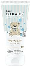 Parfums et Produits cosmétiques Crème à l'extrait d'olive et de camomille pour bébé - Ecolatier Baby Daily Care