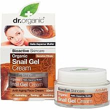 Parfums et Produits cosmétiques Gel-crème à l'extrait de bave d'escargot pour visage - Dr. Organic Bioactive Skincare Snail Gel Cream