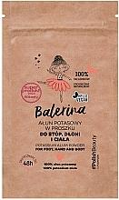 Parfums et Produits cosmétiques Poudre d'alun pour mains, pieds et corps - Floslek Balerina Potassium Alum Powder For Foot, Hand And Body