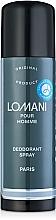 Parfums et Produits cosmétiques Parfums Parour Lomani - Déodorant spray