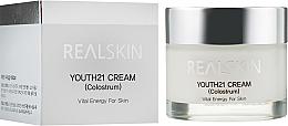Parfums et Produits cosmétiques Crème au colostrum de vache pour visage - Real Skin Youth 21 Cream Colostrum
