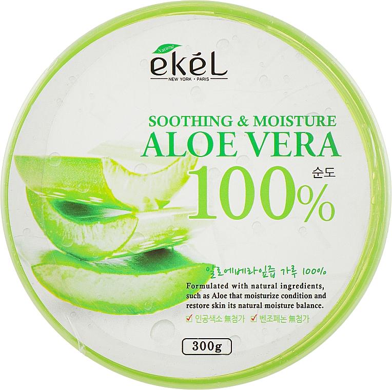 Gel à l'aloe vera pour visage et corps - Ekel AloeVera 100% Soothing Gel — Photo N1