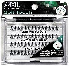Parfums et Produits cosmétiques Faux-cils individuels, pointes coniques - Ardell Soft Touch Duralash Short Black Tapered Tips