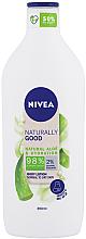 Parfums et Produits cosmétiques Lotion à l'aloe vera pour corps - Nivea Naturally Good Body Lotion