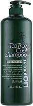 Parfums et Produits cosmétiques Shampooing rafraîchissant à l'arbre à thé - Daeng Gi Meo Ri Naturalon Tea Tree Cool Shampoo