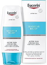 Parfums et Produits cosmétiques Gel-crème après-soleil pour visage et corps - Eucerin After Sun Creme-Gel for Sensitive Relief