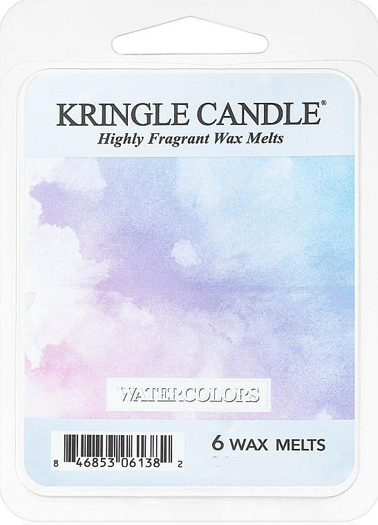 Cire parfumée pour lampe aromatique - Kringle Candle Watercolors