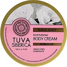 Parfums et Produits cosmétiques Crème hydratante pour corps, Racine du cerf - Natura Siberica Tuva Siberica Maral Root Moisturizing Body Cream