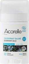 Parfums et Produits cosmétiques Déodorant baume au génévrier et menthe - Acorelle Deodorant Balm