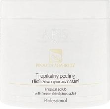 Parfums et Produits cosmétiques Gommage tropical aux ananas lyophilisés pour corps - Apis Professional Pina Colada Body Tropical Scrub
