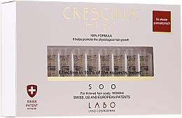 Parfums et Produits cosmétiques Traitement en ampoules stimulant la croissance des cheveux - Labo Crescina HFSC 500 Re-Growth Woman