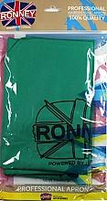 Parfums et Produits cosmétiques Tablier de coiffure, vert - Ronney Professional Hairdressing Apron Green