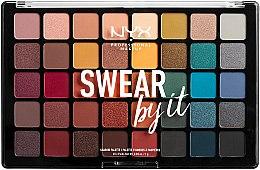 Parfums et Produits cosmétiques Palette de fards à paupières - NYX Professional Makeup Swear By It Shadow Palette