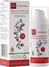 Parfums et Produits cosmétiques Crème à l'urée pour pieds et talons - GoCranberry Cosmetics Foot and Heel Cream