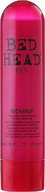 Shampooing riche en octane pour cheveux ternes - Tigi Bed Head Recharge High-Octane Shine Shampoo — Photo N1