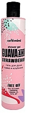 Parfums et Produits cosmétiques Gel douche Goyave et fraise - Cafe Mimi Shower Gel Guava And Strawberry