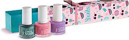 Parfums et Produits cosmétiques Set de vernis à ongles 3x7ml - Snails Mini Bebe Berry-Licious