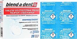 Parfums et Produits cosmétiques Comprimés nettoyants pour prothèses dentaires - Blend-A-Dent