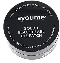 Parfums et Produits cosmétiques Patchs à l'Or et perles noirs pour contour des yeux - Ayoume Gold + Black Pearl Eye Patch