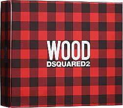 Parfums et Produits cosmétiques Dsquared2 Wood Pour Homme - Coffret (eau de toilette/50ml + gel douche/50ml + baume après-rasage/50ml)